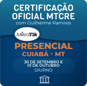 Certificação Oficial Mikrotik - MTCRE com Anderson Matozinhos - PRESENCIAL