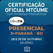 Certificação Oficial Mikrotik - MTCUME com Anderson Matozinhos - PRESENCIAL