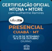 Combo Certificações Oficiais Mikrotik - MTCNA + MTCRE com Guilherme Ramires - Presencial
