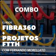 Combo Cursos Fibra360 + Projetos FTTH