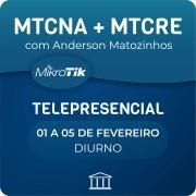 Combo Cursos MTCNA + MTCRE Telepresenciais