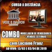 COMBO - Modelagem de Vendedores + Vendas Externas - Ao Vivo - 13/03 e 03/04/2019