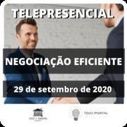 Curso de Negociação Eficiente - Telepresencial