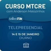 Curso e Certificação Oficial Mikrotik - MTCRE