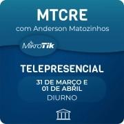 Curso e Certificação Oficial Mikrotik - MTCRE Telepresencial