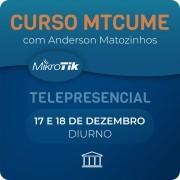CURSO E CERTIFICAÇÃO OFICIAL MIKROTIK - MTCUME