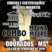 Dourados - MS - COMBO Certificações Oficiais Mikrotik - MTCNA E MTCRE