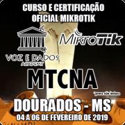 Dourados - MS - Curso e Certificação Oficial Mikrotik - MTCNA