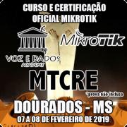 Dourados - MS - Curso e Certificação Oficial Mikrotik MTCRE