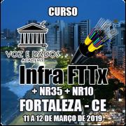 Fortaleza - CE - Curso Infraestrutura FTTx + NR35 + NR10
