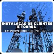 Instalação de Antenas Cliente e Torres em Provedores de Acesso - com Luciano Franz