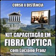 Kit de Capacitação em Fibra Óptica - com Luciano Franz