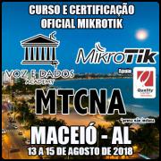 Maceió - AL - Curso e Certificação Oficial Mikrotik - MTCNA