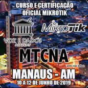 Manaus - AM - Curso e Certificação Oficial Mikrotik - MTCNA
