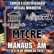 Manaus - AM - Curso e Certificação Oficial Mikrotik MTCRE
