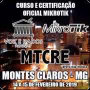 Montes Claros - MG - Curso e Certificação Oficial Mikrotik MTCRE