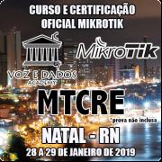 Natal - RN - Curso e Certificação Oficial Mikrotik MTCRE