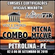 Petrolina - PE - COMBO Certificações Oficiais Mikrotik - MTCNA E MTCWE