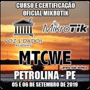 Petrolina - PE - Curso e Certificação Oficial Mikrotik - MTCWE