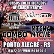 Porto Alegre - RS - COMBO Certificações Oficiais Mikrotik - MTCNA E MTCWE