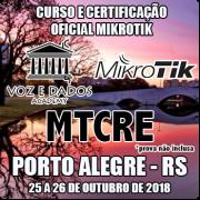 Porto Alegre - RS - Curso e Certificação Oficial Mikrotik MTCRE