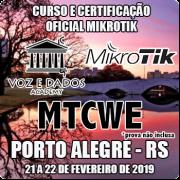 Porto Alegre - RS - Curso e Certificação Oficial Mikrotik - MTCWE