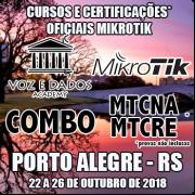 Porto Alegre - RS - Cursos e Certificações Oficiais Mikrotik - MTCNA e MTCRE