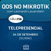 QoS no Mikrotik com Leonardo Lauenstein - Telepresencial