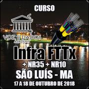 São Luis - MA - Curso Infra FTTx + NR35 + NR10