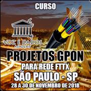 São Paulo - SP - Projetos GPON para Redes FTTx