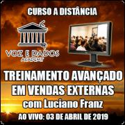 Treinamento Avançado em Vendas Externas - Ao Vivo 03/04/2019