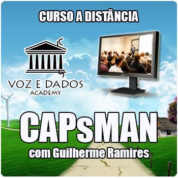 Curso a Distância - CAPsMAN  - Voz e Dados