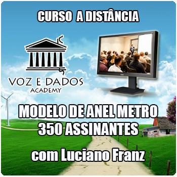 Anel Metro para 350 Assinantes  - Voz e Dados