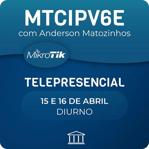 Certificação Oficial Mikrotik  - MTCIPV6E  - Voz e Dados