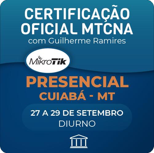 Certificação Oficial Mikrotik - MTCNA com Guilherme Ramires - PRESENCIAL  - Voz e Dados Academy