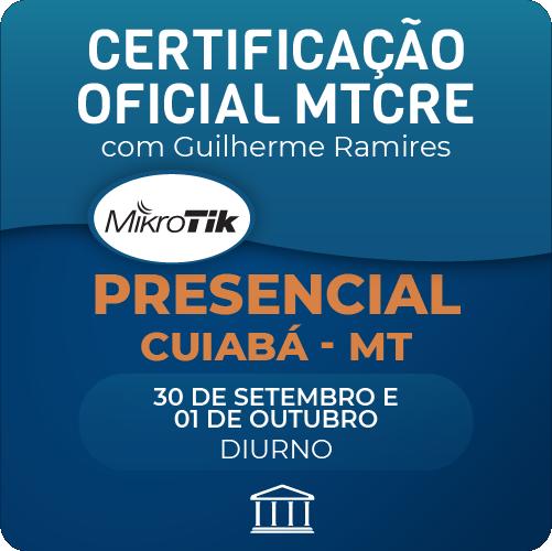 Certificação Oficial Mikrotik - MTCRE com Anderson Matozinhos - PRESENCIAL  - Voz e Dados Academy