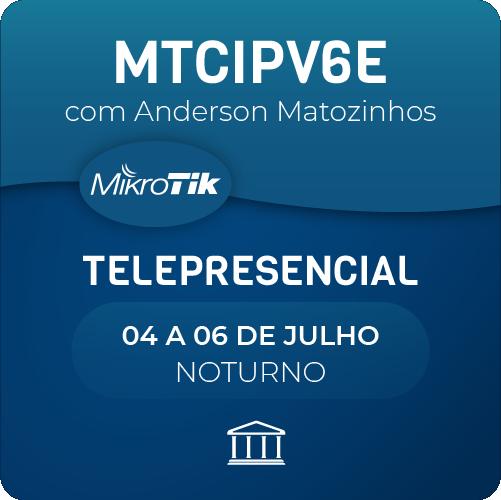 Certificação Oficial MTCIPV6E com Anderson Matozinhos - Telepresencial  - Voz e Dados Academy
