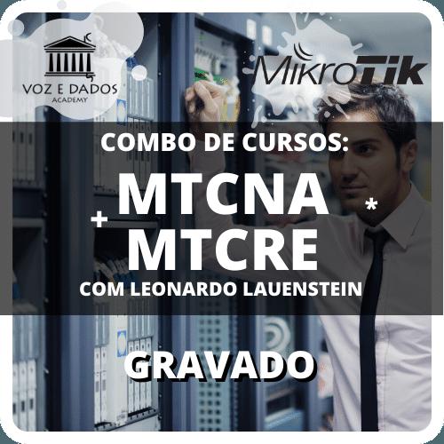 Combo Cursos MTCNA + MTCRE Gravados  - Voz e Dados