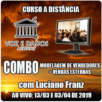 COMBO - Modelagem de Vendedores + Vendas Externas - Ao Vivo - 13/03 e 03/04/2019  - Voz e Dados