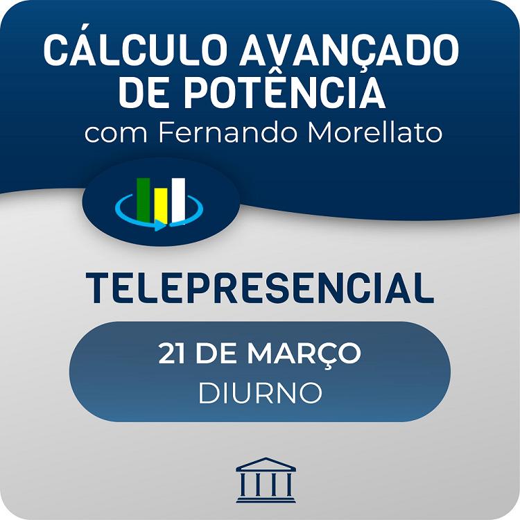 Curso Avançado de Cálculo de Potência Óptica  - CACP com Fernando Morellato - Telepresencial  - Voz e Dados
