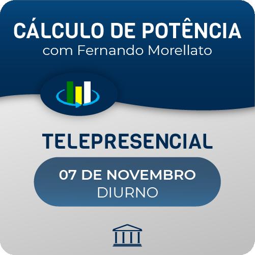 Curso de Cálculo de Potência Óptica  - CACP com Fernando Morellato - Telepresencial  - Voz e Dados Academy