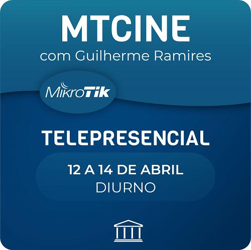 Curso e Certificação Oficial Mikrotik - MTCINE - Telepresencial  - Voz e Dados