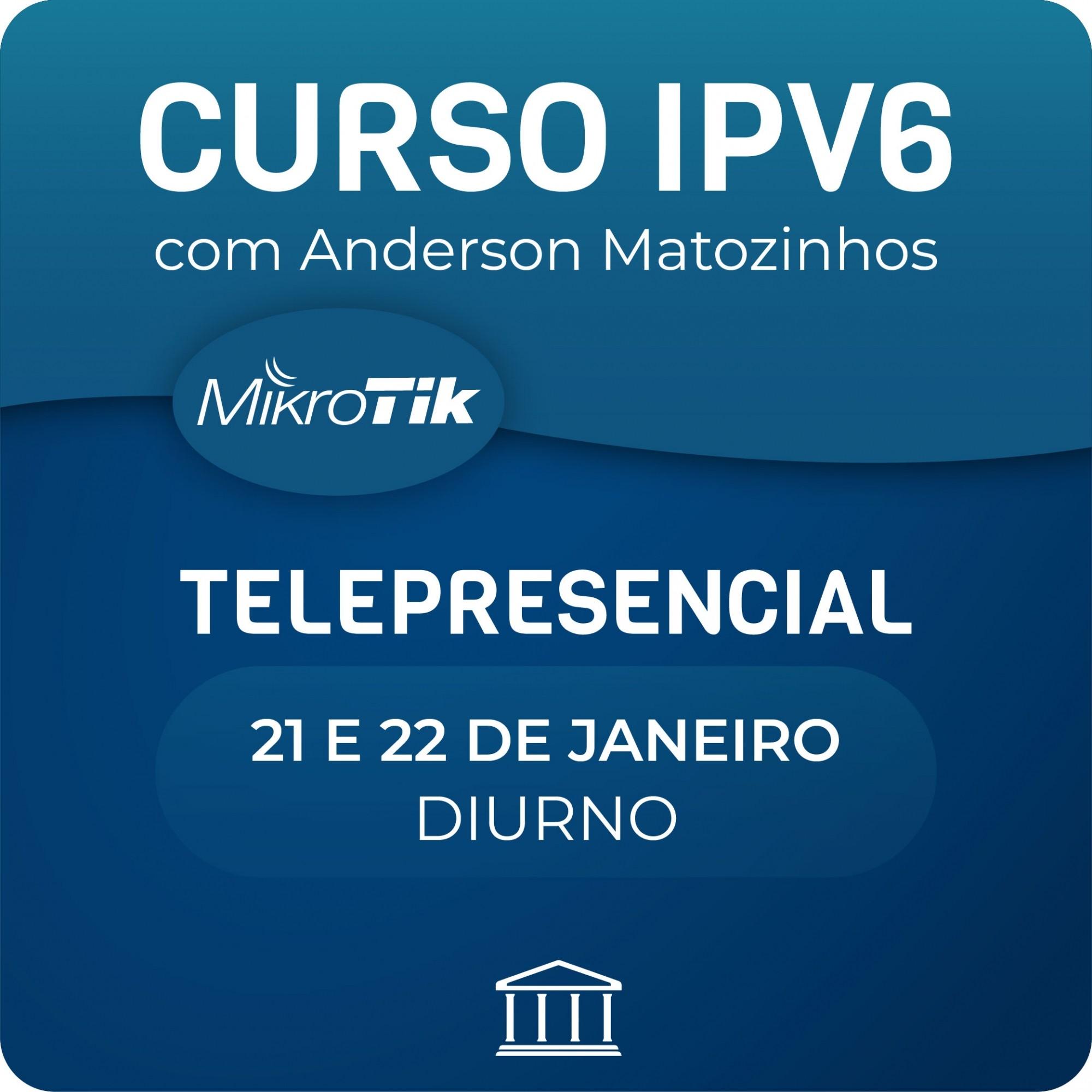 Curso e Certificação Oficial Mikrotik  - MTCIPV6E   - Voz e Dados