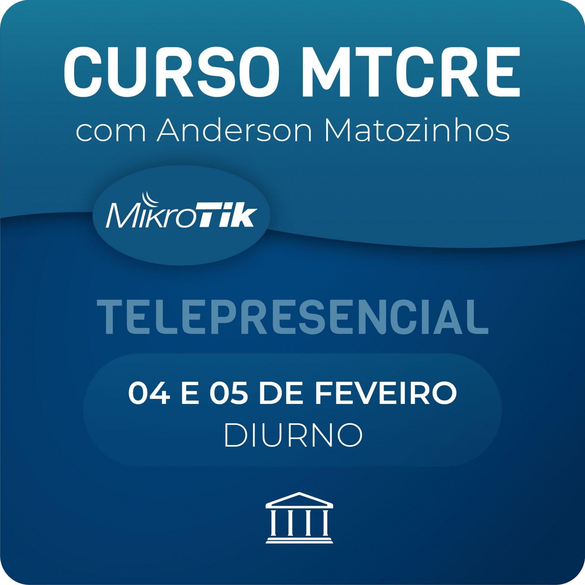 Curso e Certificação Oficial Mikrotik - MTCRE  - Voz e Dados