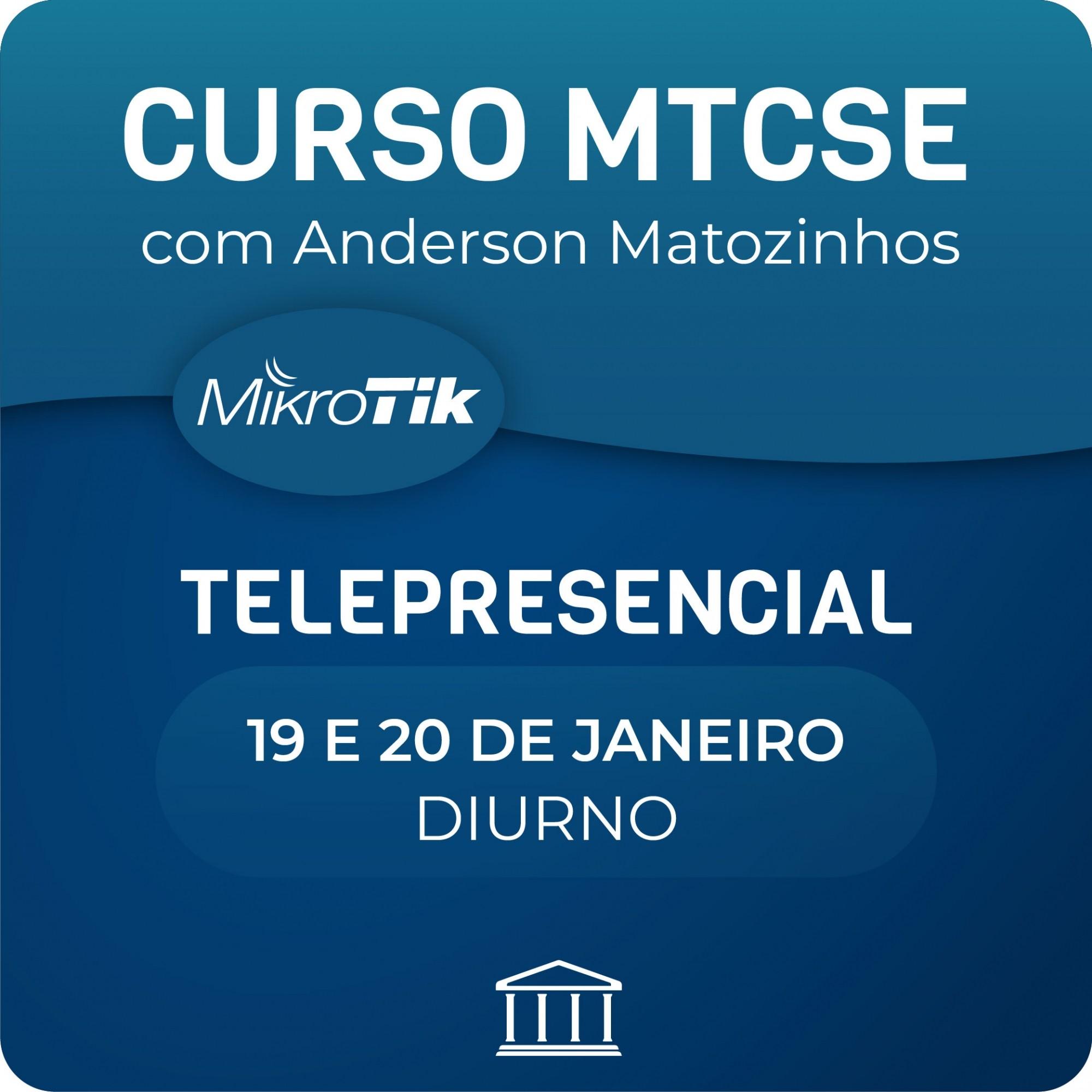 Curso e Certificação Oficial Mikrotik - MTCSE  - Voz e Dados
