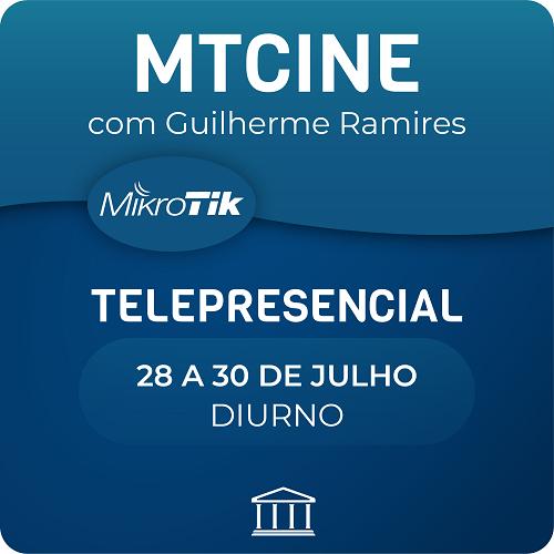 Curso MTCINE Oficial Mikrotik com Guilherme Ramires  - Telepresencial  - Voz e Dados Academy