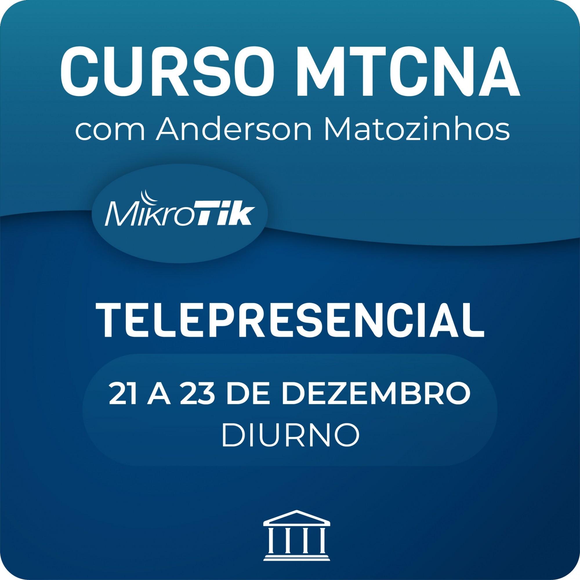 Curso MTCNA Telepresencial  - Voz e Dados