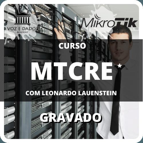 Curso MTCRE Outline Oficial com Leonardo Lauenstein - Gravado  - Voz e Dados