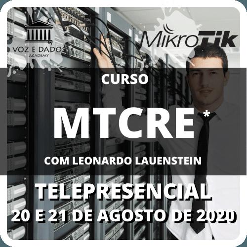 Curso MTCRE Telepresencial  - Voz e Dados