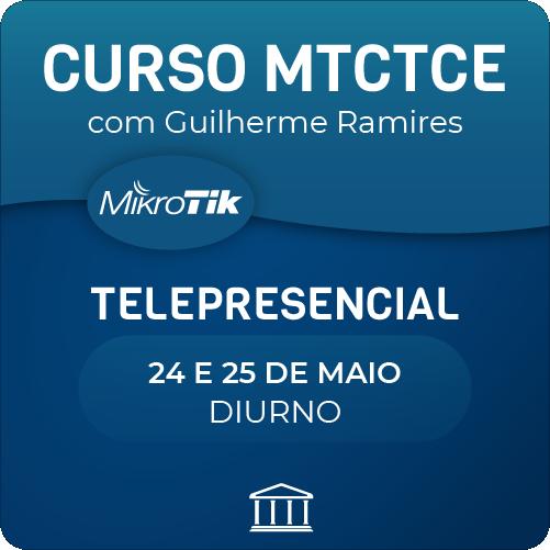 Curso MTCTCE oficial com Guilherme Ramires - Telepresencial  - Voz e Dados Academy
